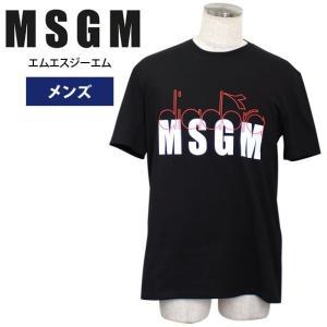 MSGM エムエスジーエム メンズ Tシャツ 半袖  2018年夏新作 2440MM310 184195 99|yumesse