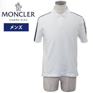 モンクレール メンズ半袖ポロシャツ ウェア アパレル 2018年夏新作 MONCLER D1 391 8319800 8496P 001|yumesse