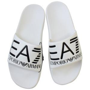 エンポリオアルマーニ ビーチサンダル シャワーサンダル メンズ エアセッテ EA7 2018年夏新作 EMPORIO ARMANI 905012 8P215 00010|yumesse