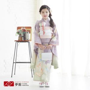 1〜9月利用 7歳 着物 レンタル 七五三 ひな祭り お正月 JILLSTUART 「N041 薄紫...