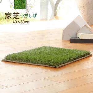 芝 マット 40×50cm 日本製 家芝 防音 防炎 手洗いOK 高品質マット チェアパット 小物置...