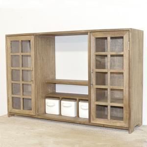 シャビーでシンプルな 小家具キャニスター キャビネット|yumugiya