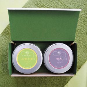 お茶 緑茶 茶葉 煎茶・深蒸し茶のやぶきたセット 牧之原産 静岡茶 お茶の葉 2019 プレゼント|yunoha