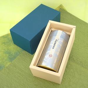 お茶 静岡茶 茶葉 高級静岡煎茶 缶入り 緑茶 お茶の葉 ギフトセット プレゼント|yunoha