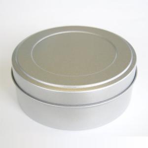 茶筒 平缶 大 内容量 約80g  缶 茶缶  おしゃれ モダン|yunoha