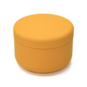 茶筒 茶缶 おしゃれ モダン プチ缶 マスタード 内容量 約20g 缶|yunoha