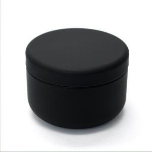 お茶筒 茶缶 おしゃれ モダン プチ缶 ブラック 内容量 約20g 缶|yunoha