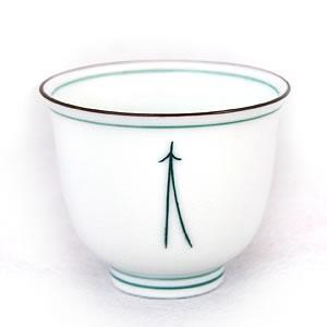 湯呑み 松葉茶碗 大 単品 約100cc 茶器|yunoha