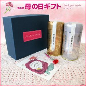 母の日ギフト 新茶 静岡初摘み 煎茶 深蒸し茶 セット メッセージカード付 プレゼント 2019|yunoha