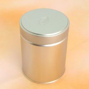 茶筒 茶缶 スクリュー缶 レリーフ 内容量 約100g 缶 おしゃれ モダン|yunoha