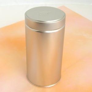 茶筒 茶缶 スクリュー缶 レリーフ 内容量 約225g 缶 おしゃれ モダン|yunoha