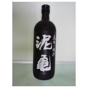 泥亀 麦焼酎720ml×1本|yunokawa
