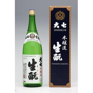 大七 大七生もと(箱入り)本醸造酒 1800ml×1本|yunokawa