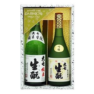 日本酒 飲み比べセット 福島の地酒 大七 名滴撰 J 2本セット|yunokawa