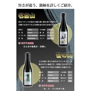 日本酒 飲み比べセット 福島の地酒 今宵一献!福島の地酒6本セット|yunokawa|03