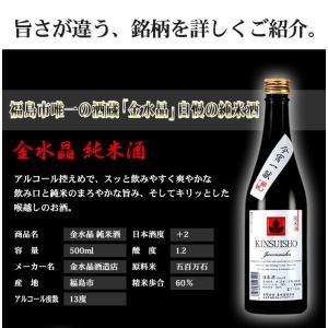 日本酒 飲み比べセット 福島の地酒 今宵一献!福島の純米酒6本セット|yunokawa|06