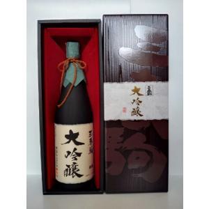 三春駒大吟醸BOX 1800ml×1本|yunokawa