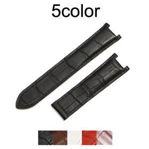 「 パシャ 向け」 輸入王オリジナル ベルト 社外品 型押しクロコ メンズ レディース カルティエ 腕時計用 片側折込タイプ|yunyuuoh