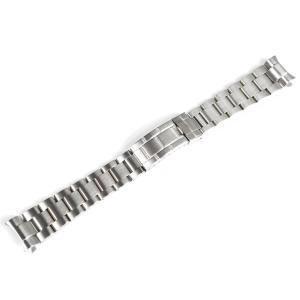 「サブマリーナ 向け」 輸入王オリジナル オイスター ブレス ツヤなし メンズ 腕時計用 社外品 エクスプローラー などにも最適