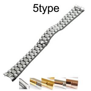 「デイデイト 向け」 輸入王オリジナル プレジデント ブレス センターツヤあり メンズ 腕時計用 社外品