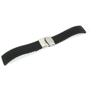 「タグホイヤー TAGHEUER 向け」 輸入王オリジナル ラバーベルト オリジナルパターン1 社外品 メンズ 腕時計用...