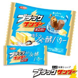 ブラックサンダーミニバー 香る発酵バター チョコ プチギフト スイーツ お菓子 ギフト ブラック サ...