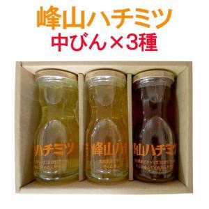 峰山ハチミツ はちみつ ギフト 中びん3本 香川県産|yurakuya-udon