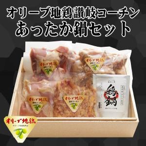 送料無料 オリーブ地鶏 讃岐コーチン 鶏鍋セット(もも むね つみれ 手羽元) 3〜4人前 スープ付き 特産地鶏 お取り寄せ 鍋 グルメ 肉の日 G013|yurakuya-udon