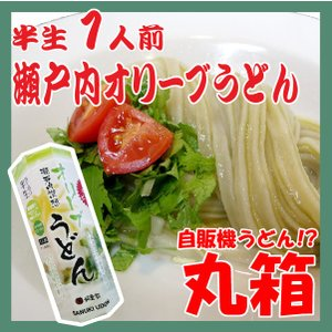ポイント消化 讃岐うどん 讃想 瀬戸内オリーブうどん 1人前 丸箱 つゆ付 yurakuya-udon