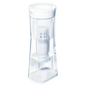 三菱ケミカル・クリンスイ 浄水器 ポット型 ヨコ置き対応モデル クリア 約高さ30.2×幅12.4×奥行10.7cm 除菌 フィルター CP015-W|yurando1112