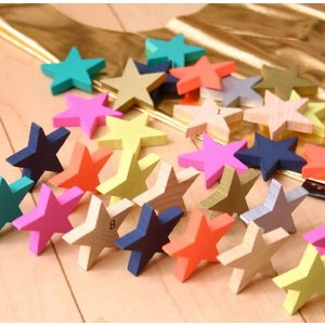 kiko+ tanabata(キコ たなばた 七夕) 星形ドミノセット 木製 積み木 木のおもちゃ ドミノ倒し 出産祝いや誕生日プレゼントに!|yurando1112