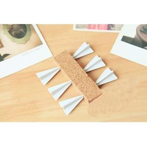 すごい!紙飛行機? 壁に 刺さる おしゃれな 紙飛行機型 ピン 押しピン 画鋲|yurando1112