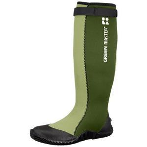 [アトム] 長靴 グリーンマスター No.2620 メンズ グリーン 27.5 cm 3E yurando1112