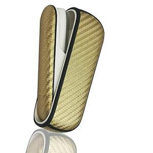 Monica-JP アイコス3/アイコス3 デュオ充電コンパートメント本体用のケース レザー 革ケース カーボンレザー カーボン調 デザインケース 超 yurando1112