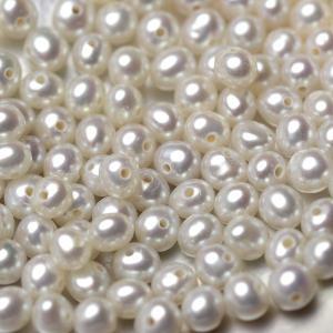淡水ベビーパール パーツ 素材 ビーズ 真珠 ホワイト 極小 1粒 2.5~3.5mm|yusa-jewelry