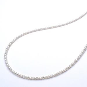極小淡水パールネックレス 真珠 SV925 ピアスセット 金属アレルギー対応 送料無料 ポイント消化|yusa-jewelry