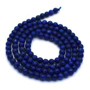 40cm ラピスラズリ 極小ラウンド 2.5mm 連 小粒 天然石 ビーズ 素材 パーツ yusa-jewelry