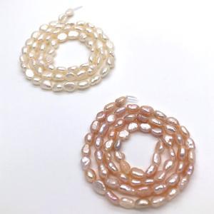 淡水パール バロック ベビー ライス 140粒 2色 パーツ ビーズ ルース 素材|yusa-jewelry