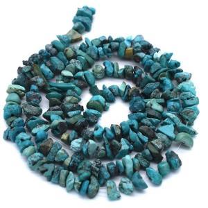 連50cm 本トルコ石 細石 さざれ ターコイズ 天然石 ハンドメイド 素材 パーツ ポイント消化 ※含浸処理していません|yusa-jewelry