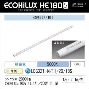 LED蛍光灯 アイリスオーヤマ40W型 昼白色 ECOHiLUX HE 180S LDG32T・N/11/20/18S|yusac