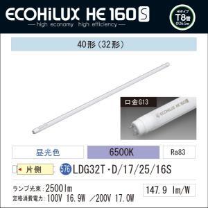 LED蛍光灯 LED照明 アイリスオーヤマ40W型 昼光色 2500lm  ECOHiLUX  HE 160S LDG32T・D/17/25/16S|yusac