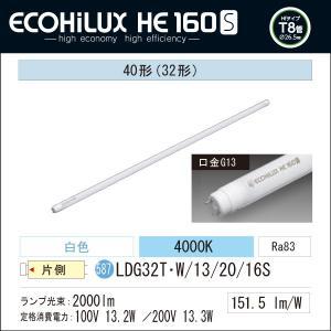 LED蛍光灯 LED照明 アイリスオーヤマ40W型 白色 2000lm ECOHILUX HE 160S   LDG32T・W/13/20/16S|yusac