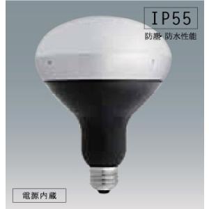 アイリスオーヤマ屋外LED電球 バラストレス水銀灯タイプ ボディ:ブラック 電球色 LDR1020V13L-H/16BK|yusac