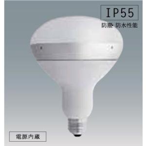アイリスオーヤマ屋外LED電球 バラストレス水銀灯タイプ ボディ:ホワイト 電球色 LDR1020V13L-H/16WH|yusac