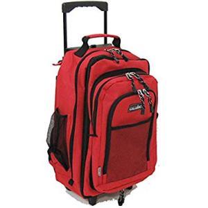 GULLWING(ガルウィング) バックパック リュックキャリー 3WAY 着脱式デイパック付 リュックサック No15152-09 アカ  ... yusyo-shopping
