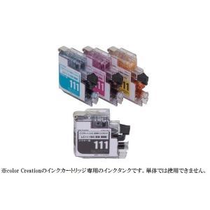 Color Creation ブラザー LC111互換 交換用インクタンク 4色パック CF-BLC111-4P-TS  ._ yusyo-shopping