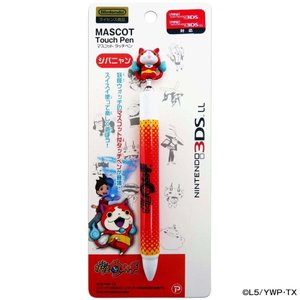 妖怪ウォッチ NINTENDO 3DSLL マスコットタッチペン ジバニャン .|yusyo-shopping