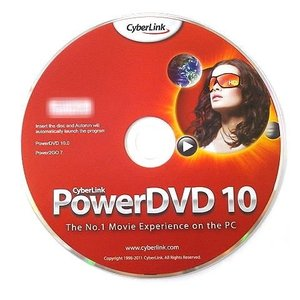 Cyberlink PowerDVD 10.0 + Power2GO 7 OEM版 .