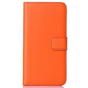本革 iPhone6/6s対応 レザーケース 《オレンジ》 スマホケース .|yusyo-shopping