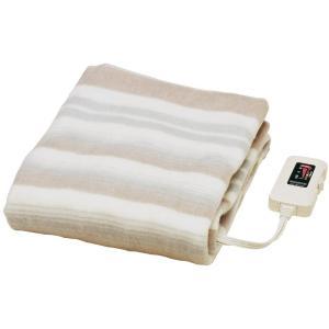 椙山紡織 電気敷毛布 NA-023S 寒い夜に布団に入ってもヒヤっとしない 日本製 140×80cm...